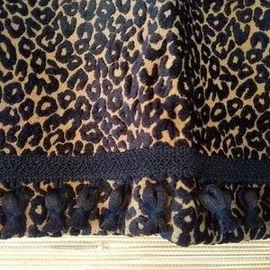 Animal Print Valances/Curtains